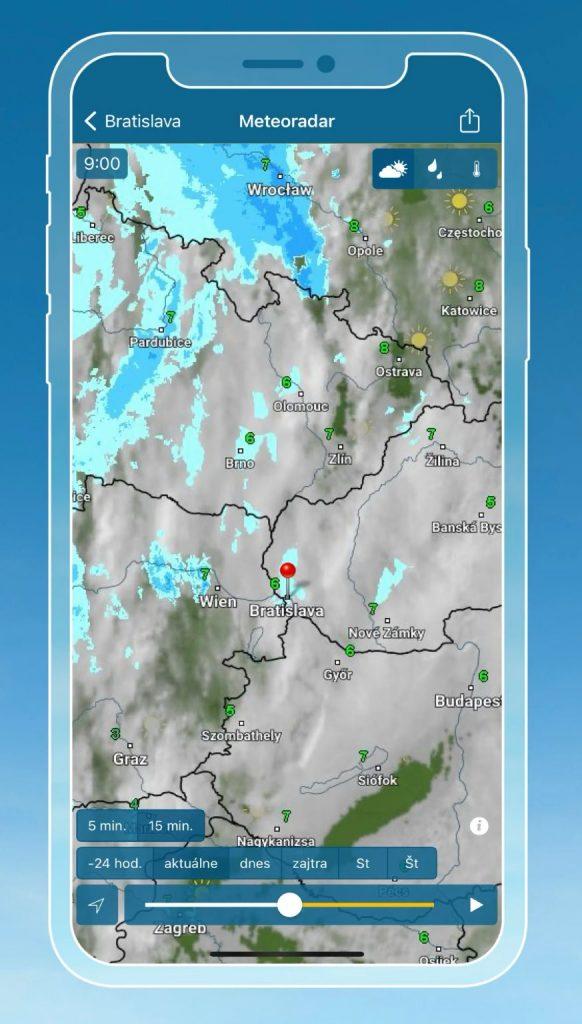 Počasie & Radar