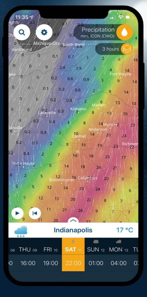 Ventusky: Počasie