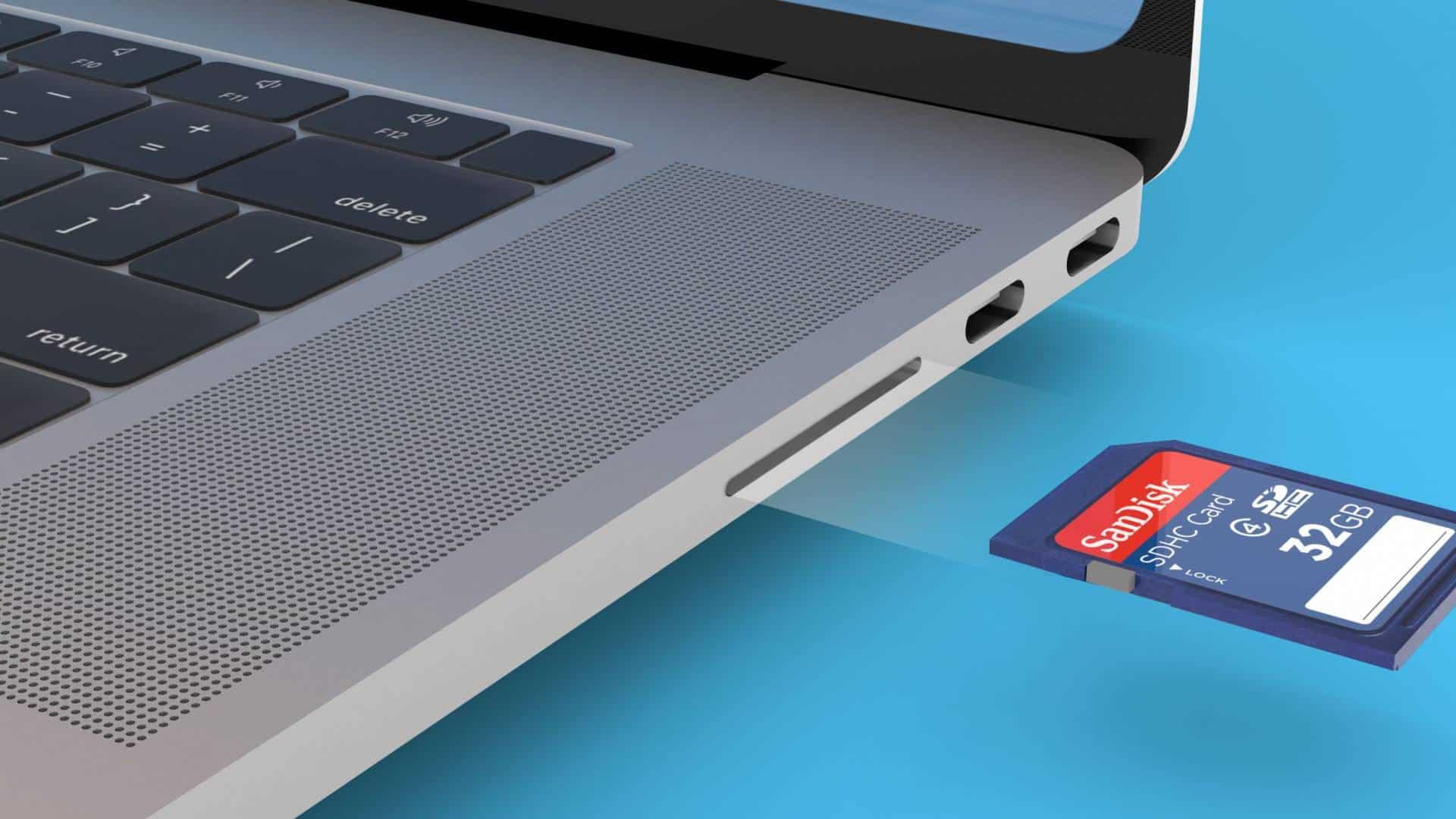 MacBook Pro 2021 dostane slot na SD kartu. Na Touch Bar zabudnite