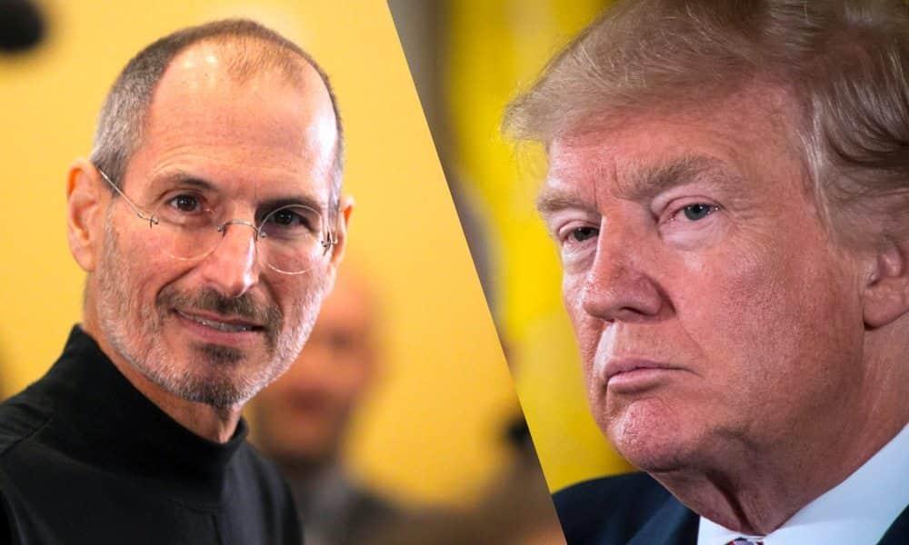 Donald Trump chce postaviť sochu Steva Jobsa