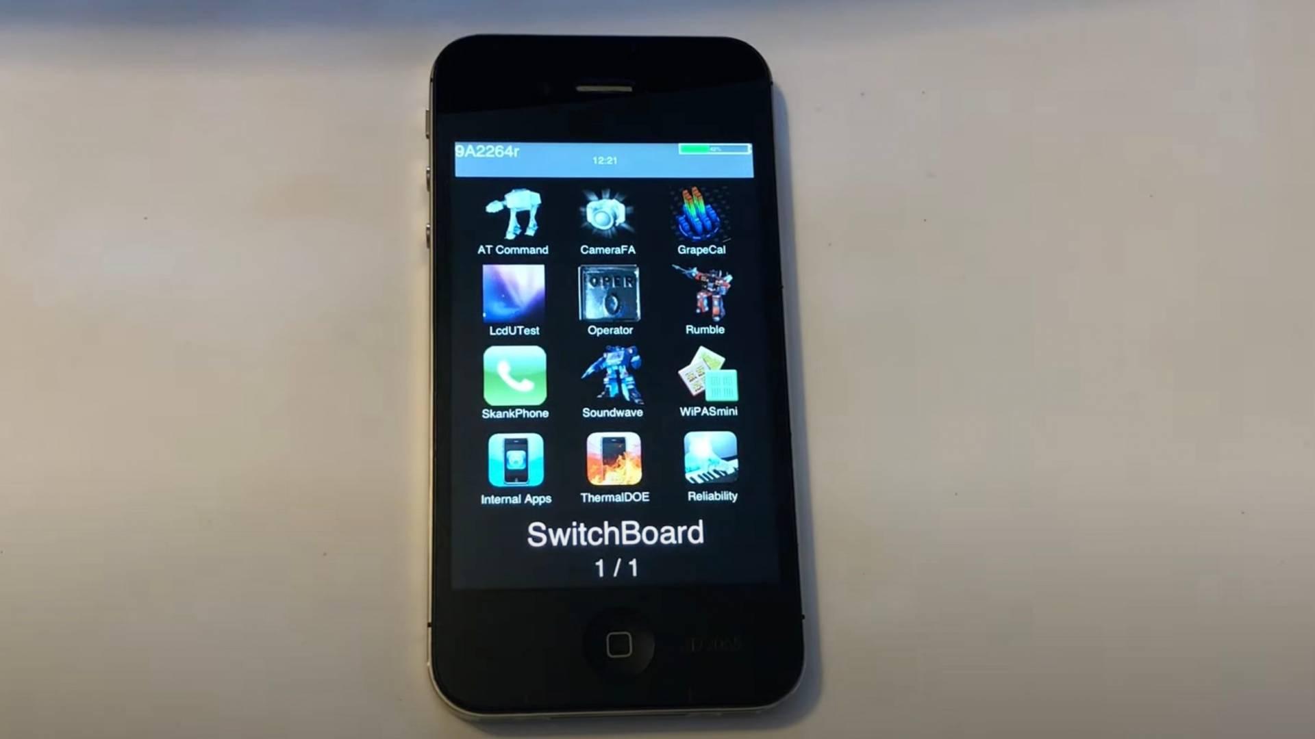 Prototyp iPhonu 4S