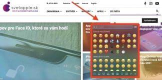 Návod: Ako napísať Emoji na Macu pomocou jednoduchej klávesovej skratky