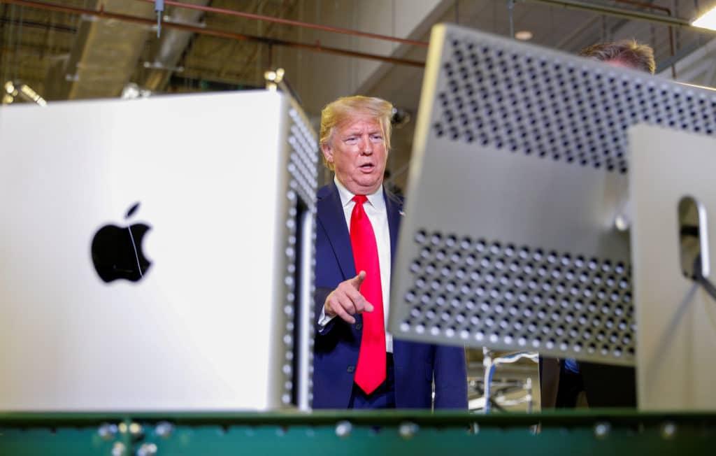 Prvý Mac Pro vlastnil bývalý americký prezident Donald Trump