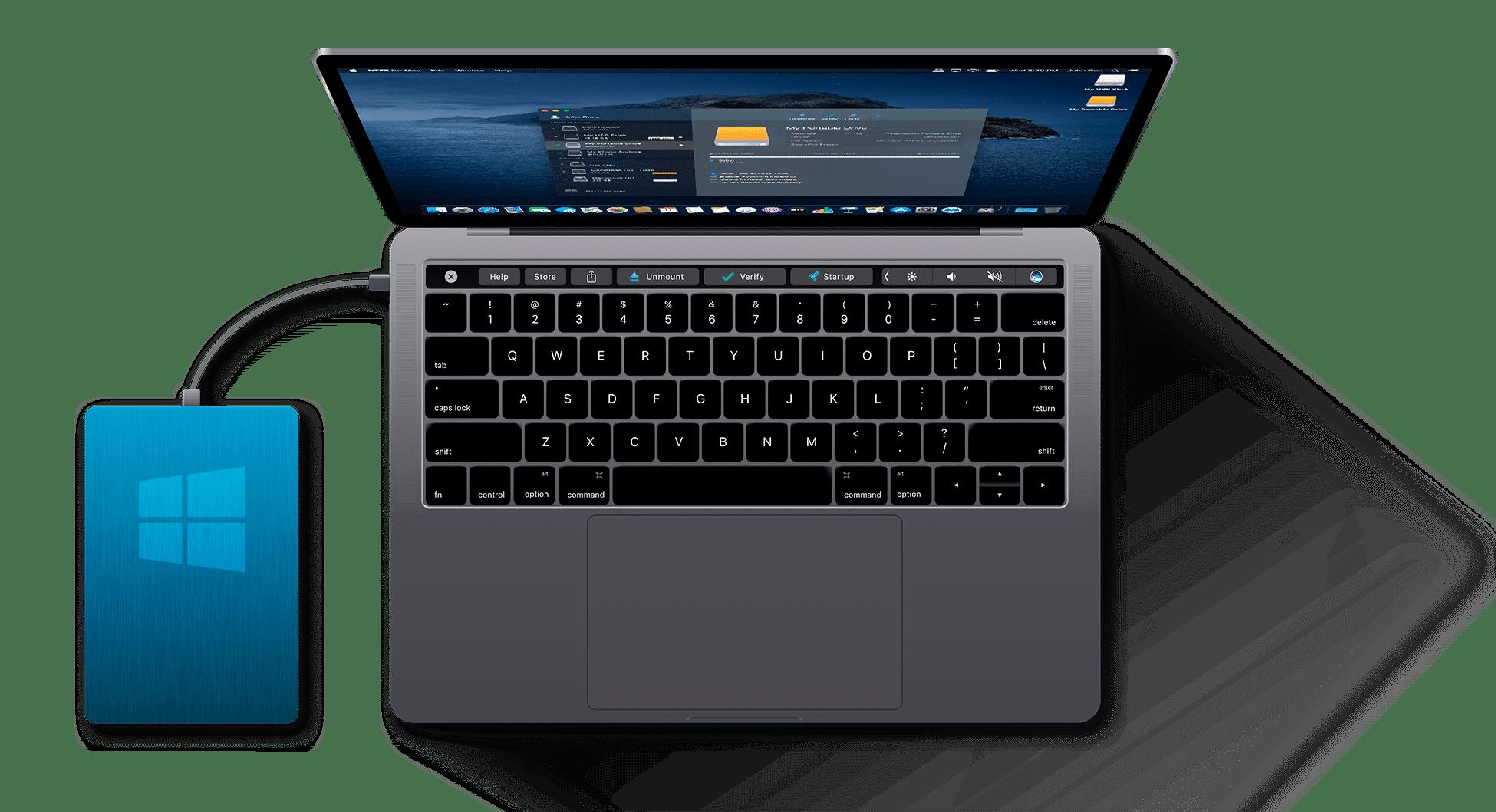 Čo robiť, keď nefunguje externý pevný disk z Windowsu na Macu?