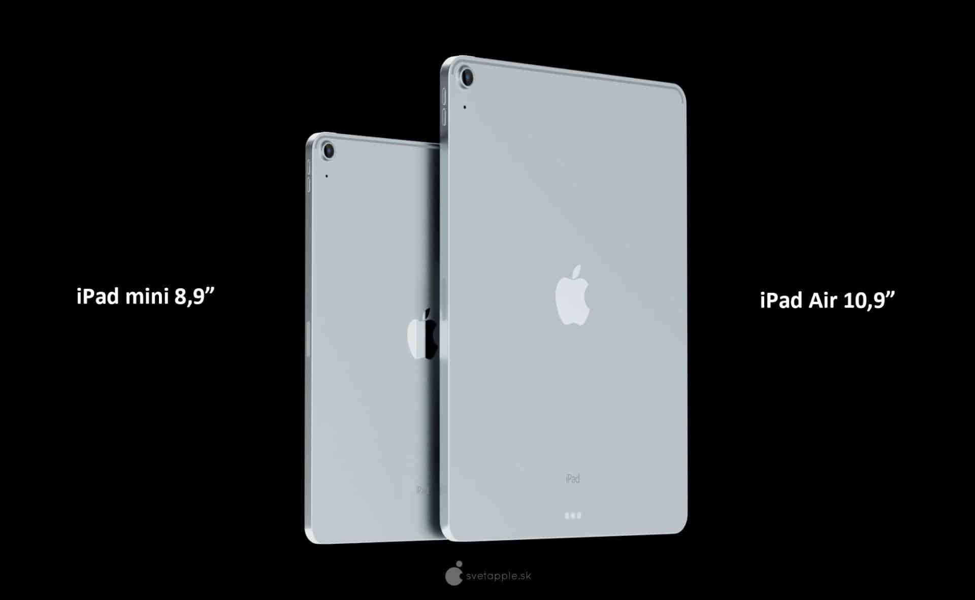 iPad mini 6. generácie (2021) - exkluzívne rendery od svetapple.sk
