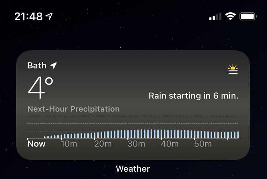 Apple vylepšilo aplikáciu Počasie v iOS pre niektoré krajiny