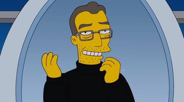 Apple ala Mapple a Steve Mobbs v seriáli Simpsonovci