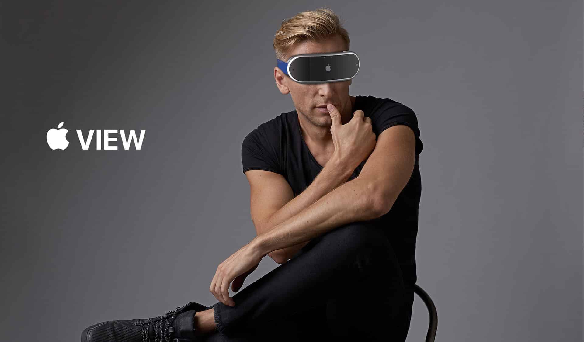 Takto má vyzerať prvý Apple VR/AR Headset od Apple