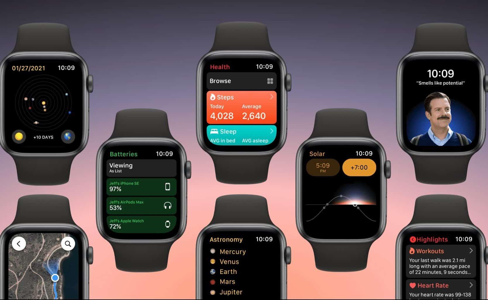 Ako by mohol vyzerať watchOS 8? Tento koncept vám to ukáže