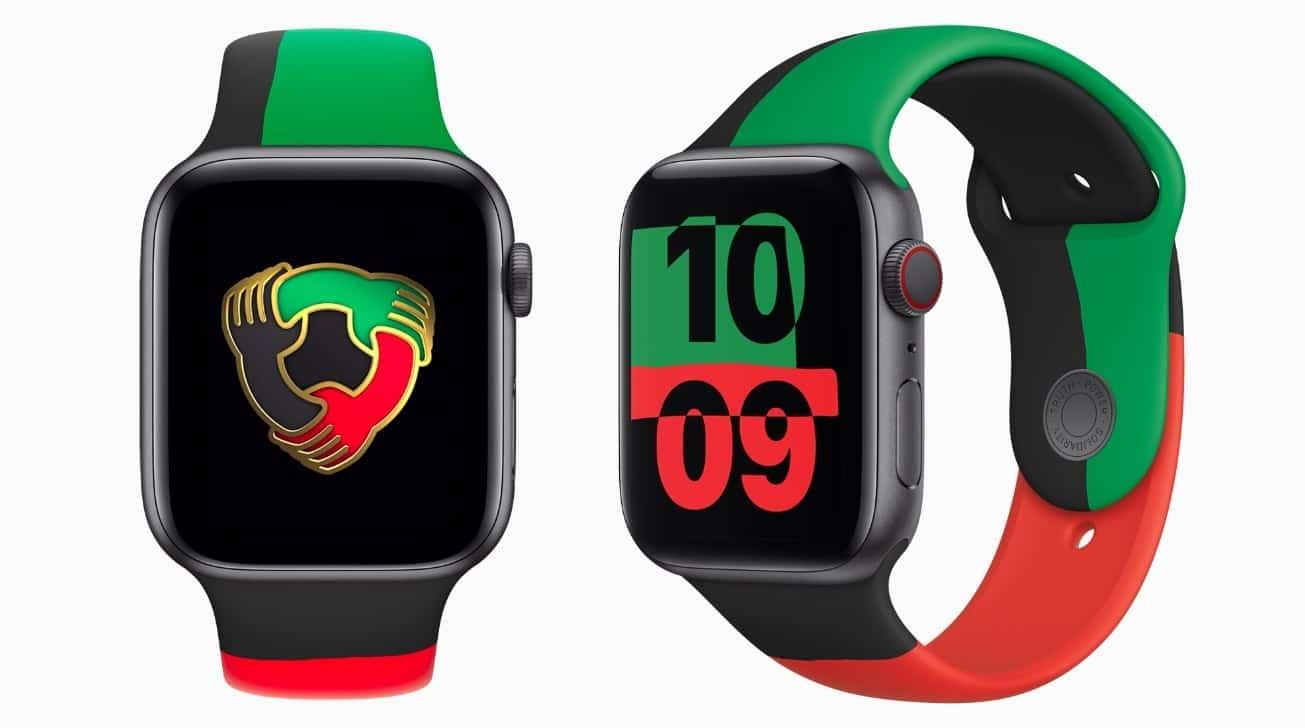Apple začalo predávať limitovanú edíciu Apple Watch Series 6 Black Unity