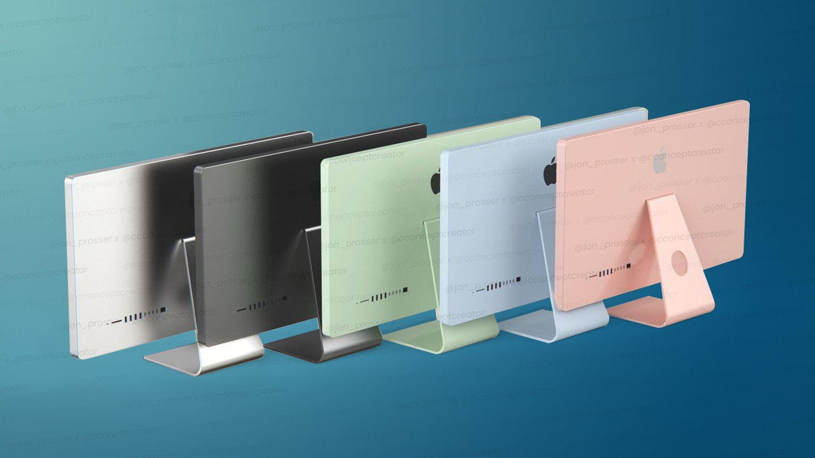 Nový iMac príde v piatich farbách