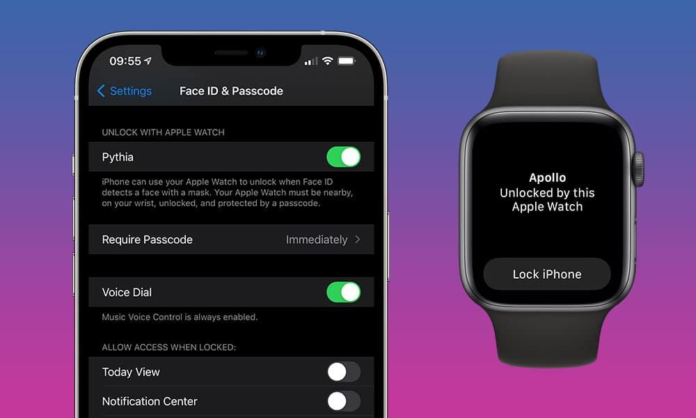 S iOS 14.5 budeme odomykať iPhone cez Apple Watch