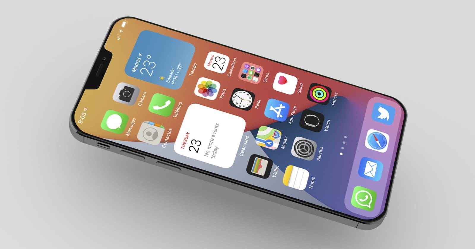 iPhone s 240Hz obnovovacou frekvenciou