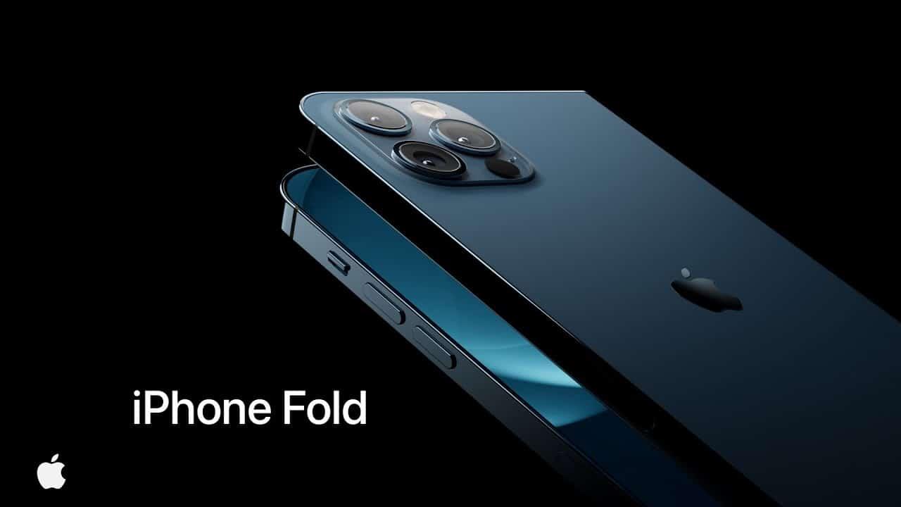 Takto by raz mohol vyzerať skladací iPhone
