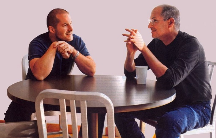 Jony Ive a Steve Jobs