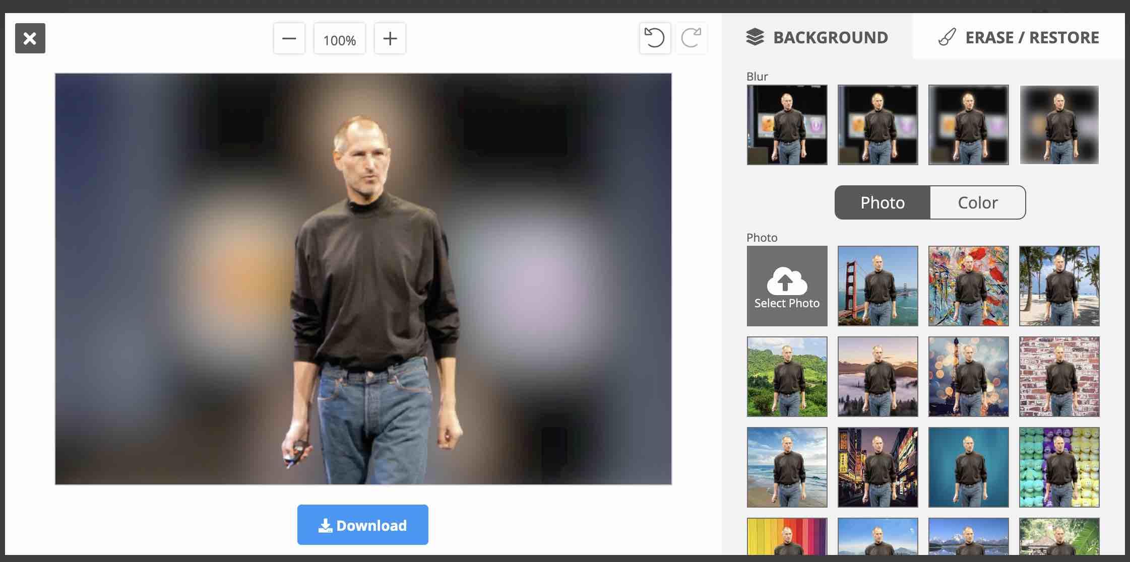 Odstránenie pozadia z fotky online rýchlo a zadarmo