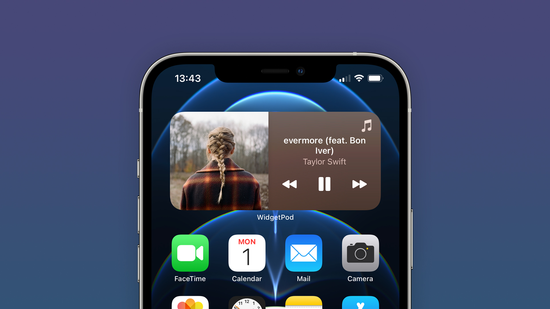 Tip: Tento widget vám umožní ovládať hudbu cez Apple Music a Spotify