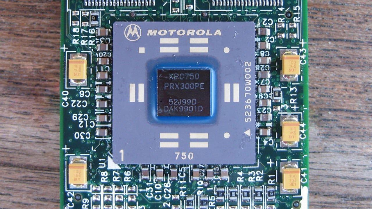 Rover používa chipset PowerPC z iMacu G3