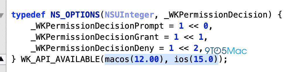 iOS 15 WebKit