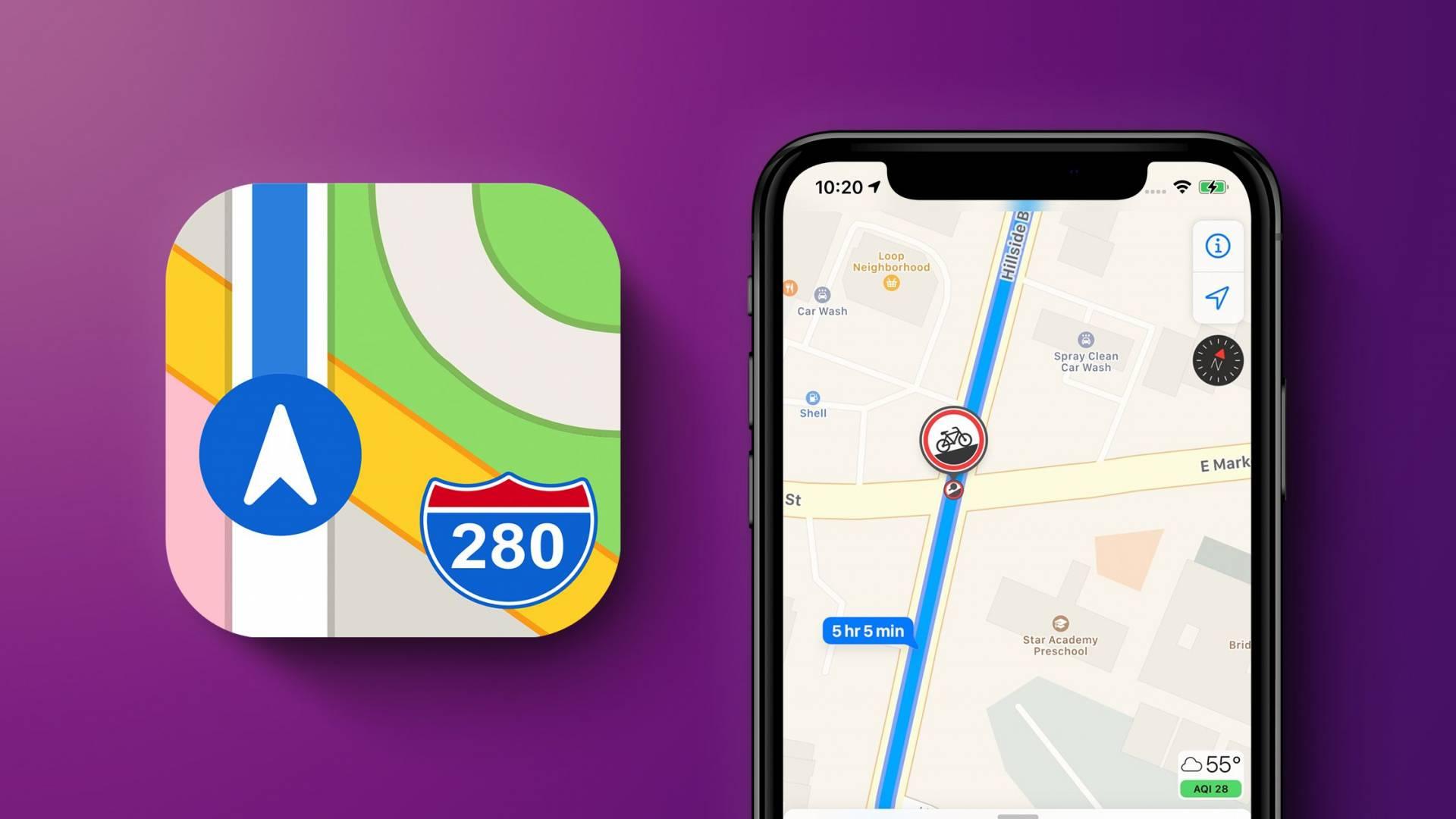 Mapy v iOS 14.5 dostanú zásadné vylepšenie