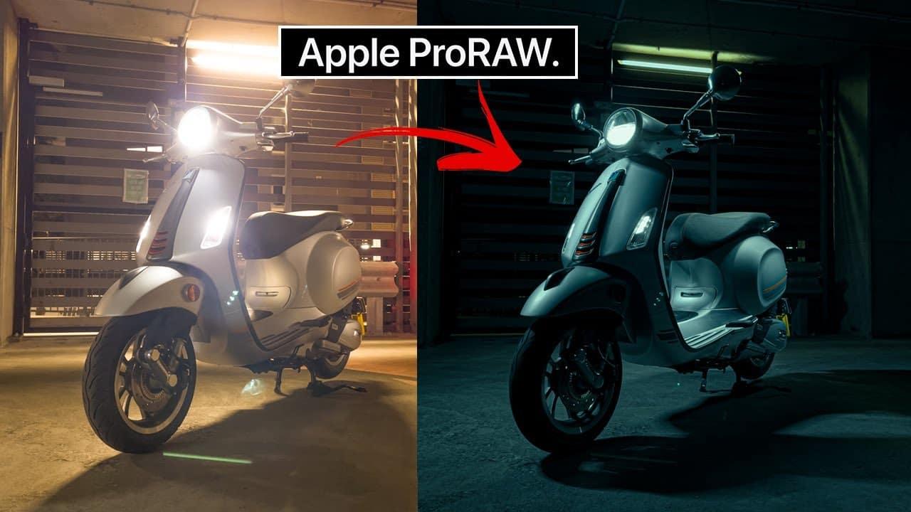 Čo je to Apple ProRAW