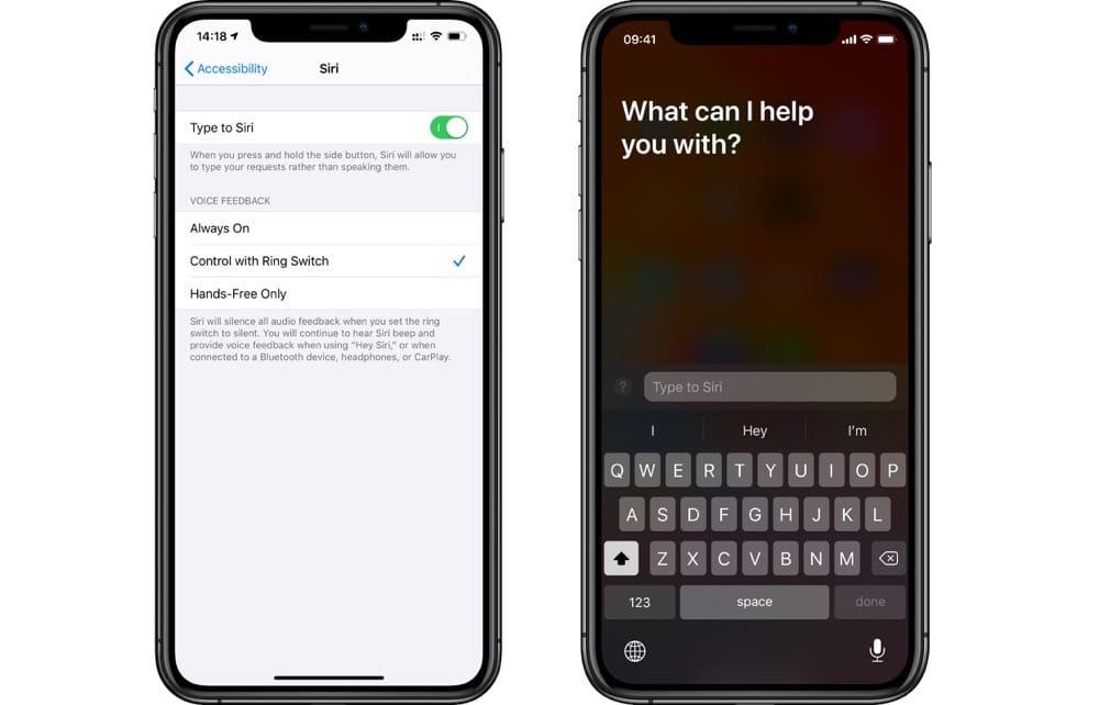 Napíšte Siri čo potrebujete