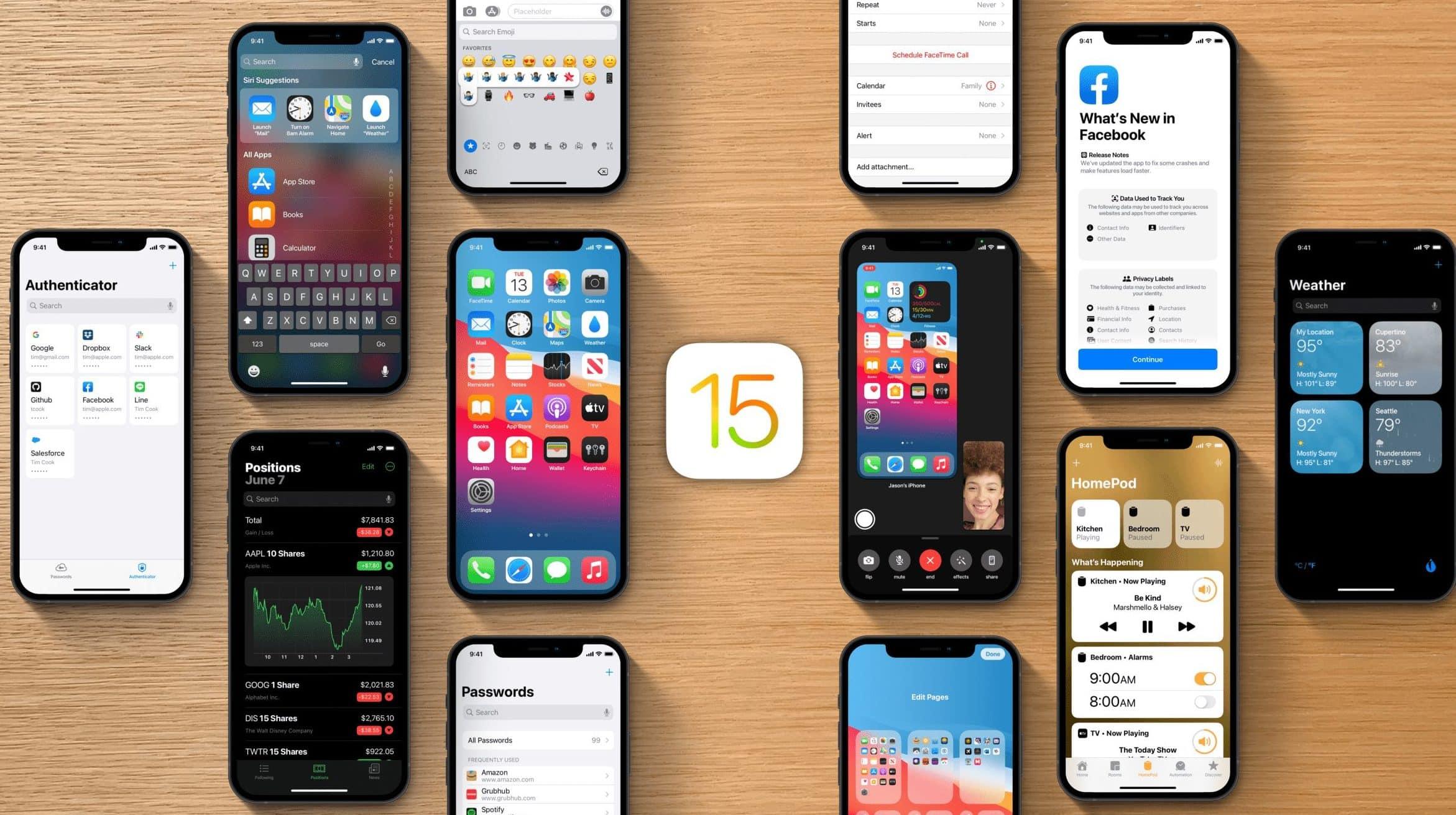 Pozrite sa na nový a realistický koncept iOS 15