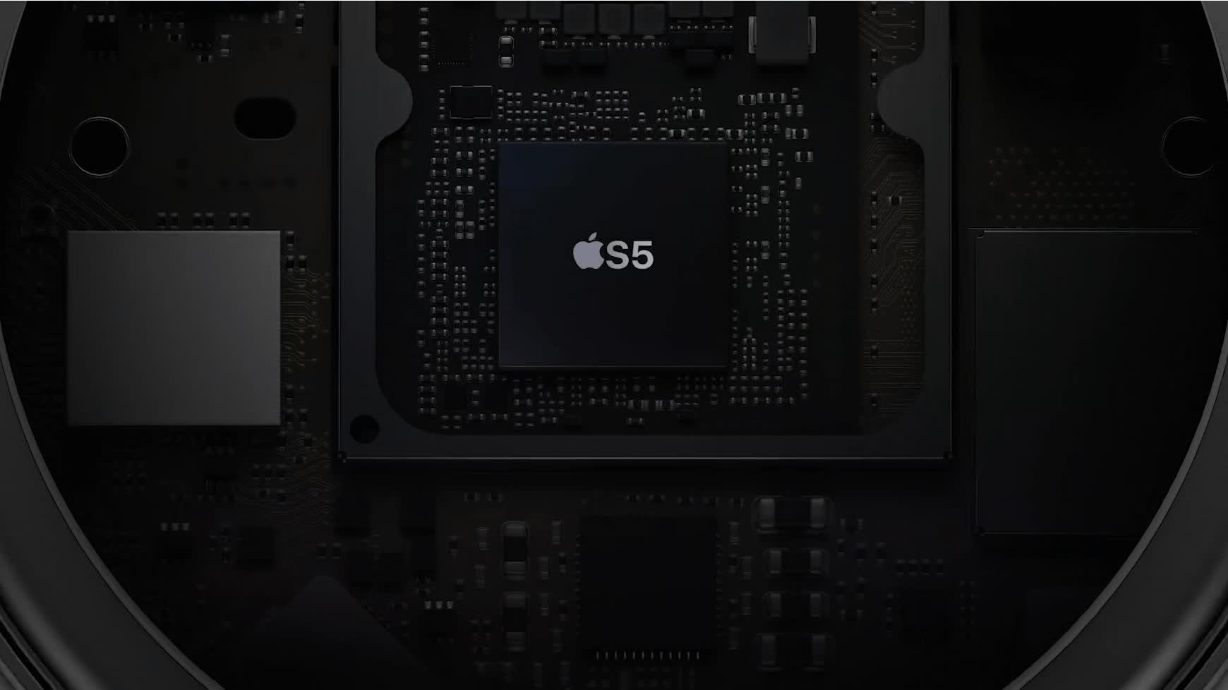 Zvuk riadi a upravuje procesor S5 – Apple.com