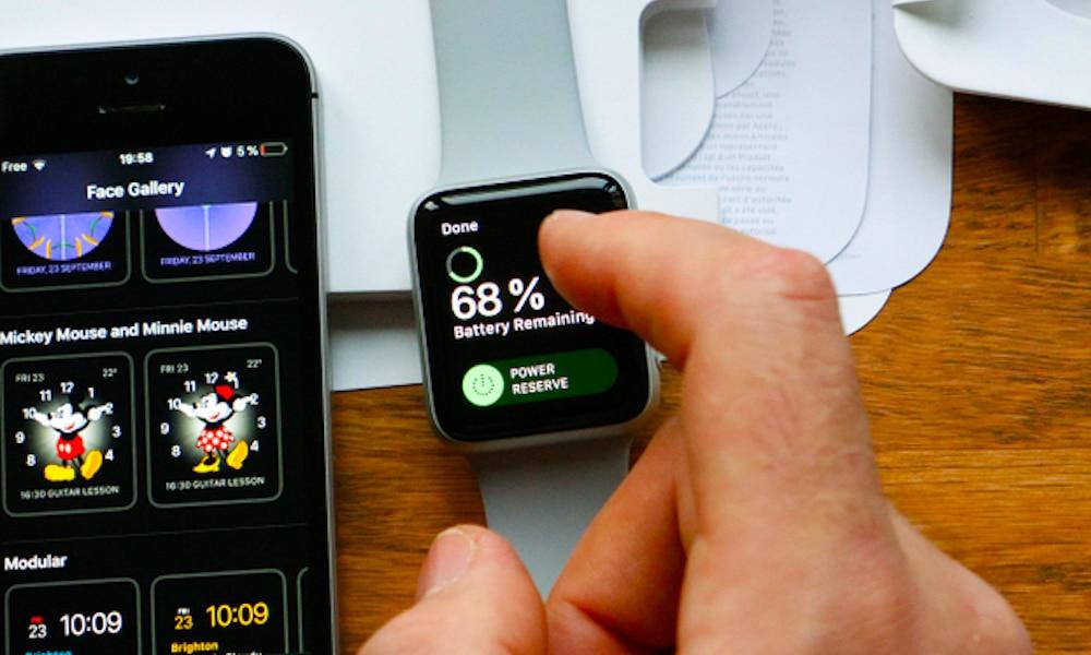 Apple Watch rezerva