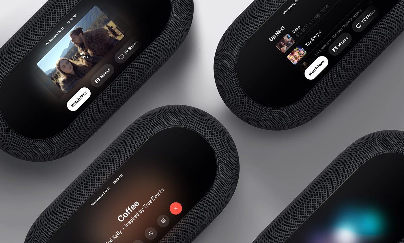 Apple TV so vstavaným HomePodom a kamerou?