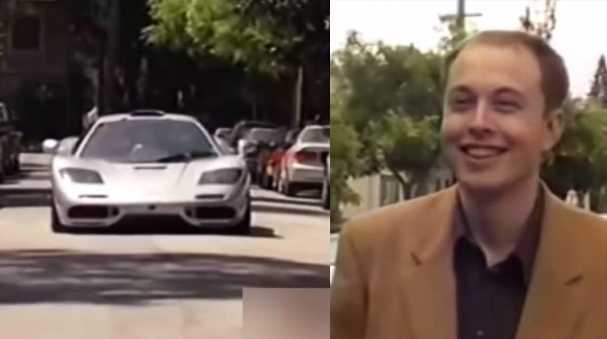 Takto si Elon Musk v roku 1999 kupoval McLaren F1