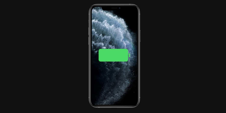 iPhone 11 Pro Max batéria