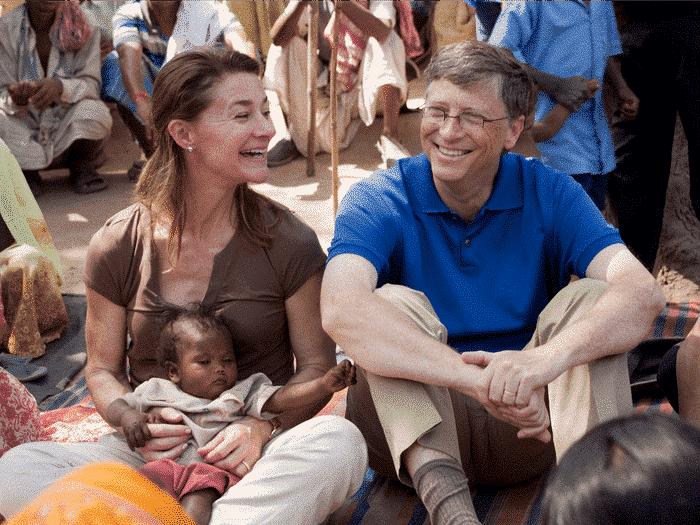 Bill a Melinda Gatesovci.