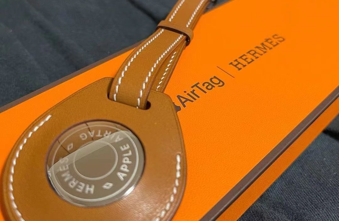 AirTag Hermes