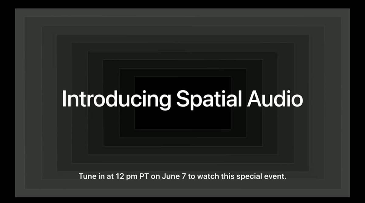 Spatial Audio WWDC 2021