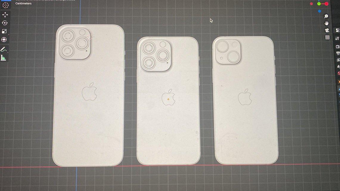 iPhone 13 maketa