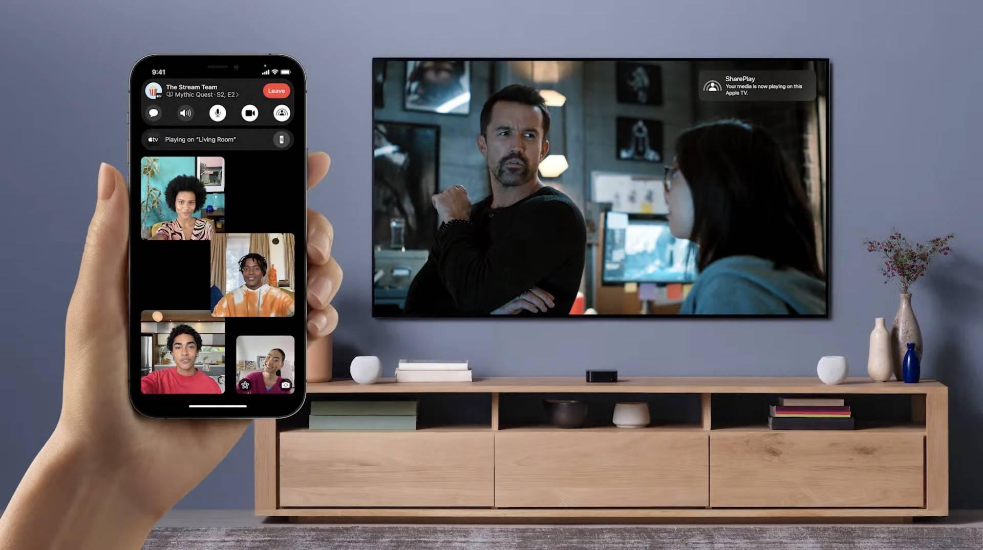 Shareplay - sleduj s cez Facetime obľúbené filmy a seriály spolu s kamarátmi - WWDC 2021