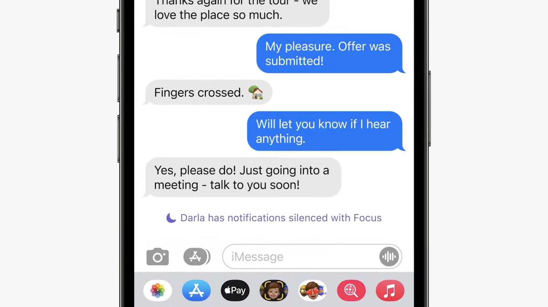 Focus - režim nerušiť sa zobrazí aj v iMessage - WWDC 2021