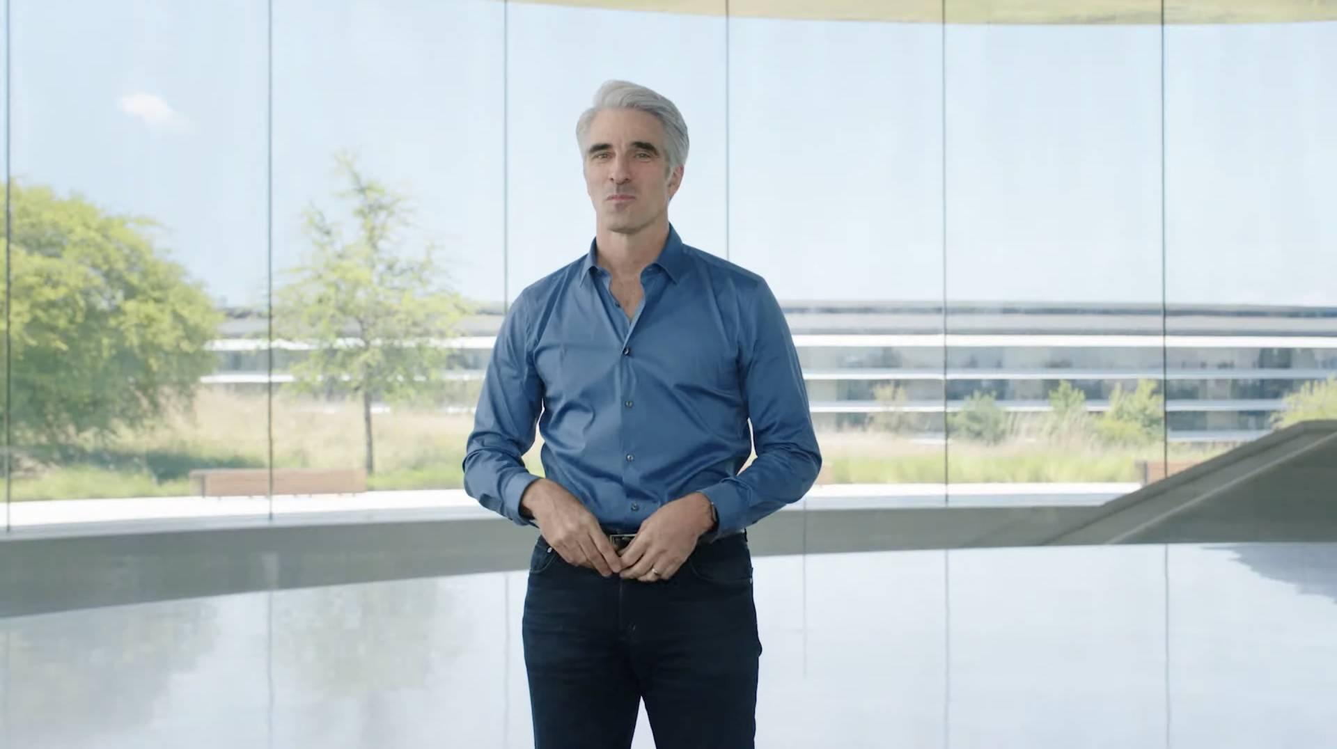 Craig Federighi WWDC 2021
