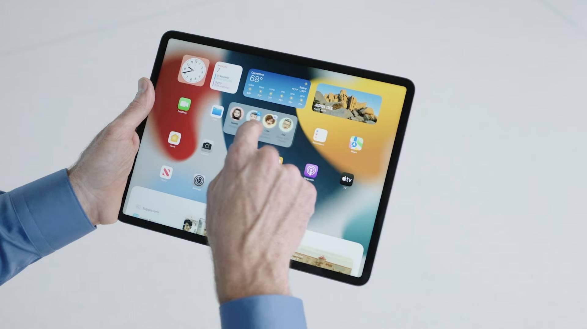 Nové widgety v iPadOS 15 WWDC 2021