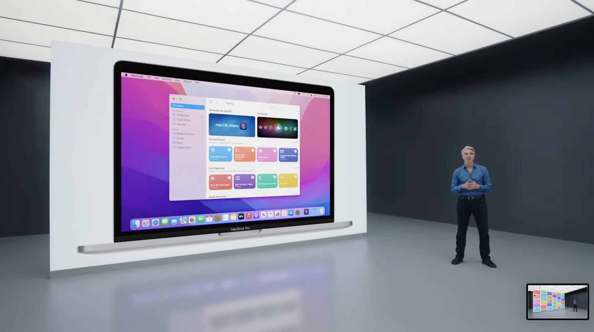 macOS 12 Monterey novinky - WWDC 2021
