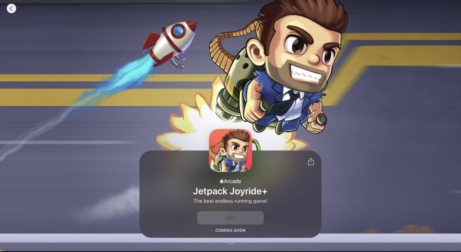 Jetpack Joyride +