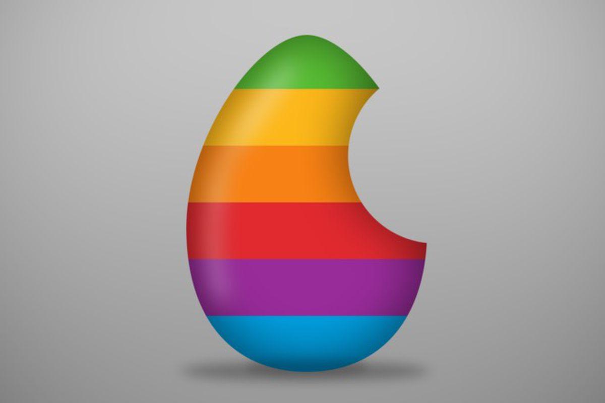 Apple easter egg