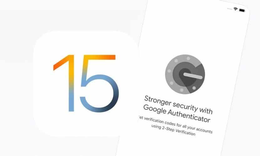 iOS 15 autentifikácia