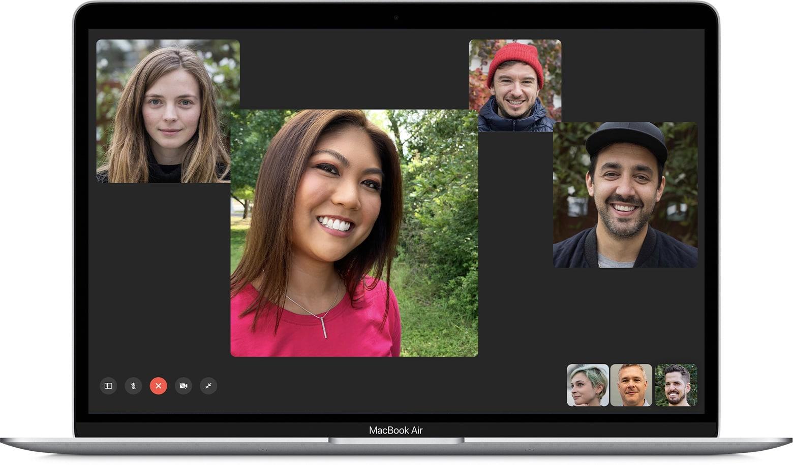 facetime macbook