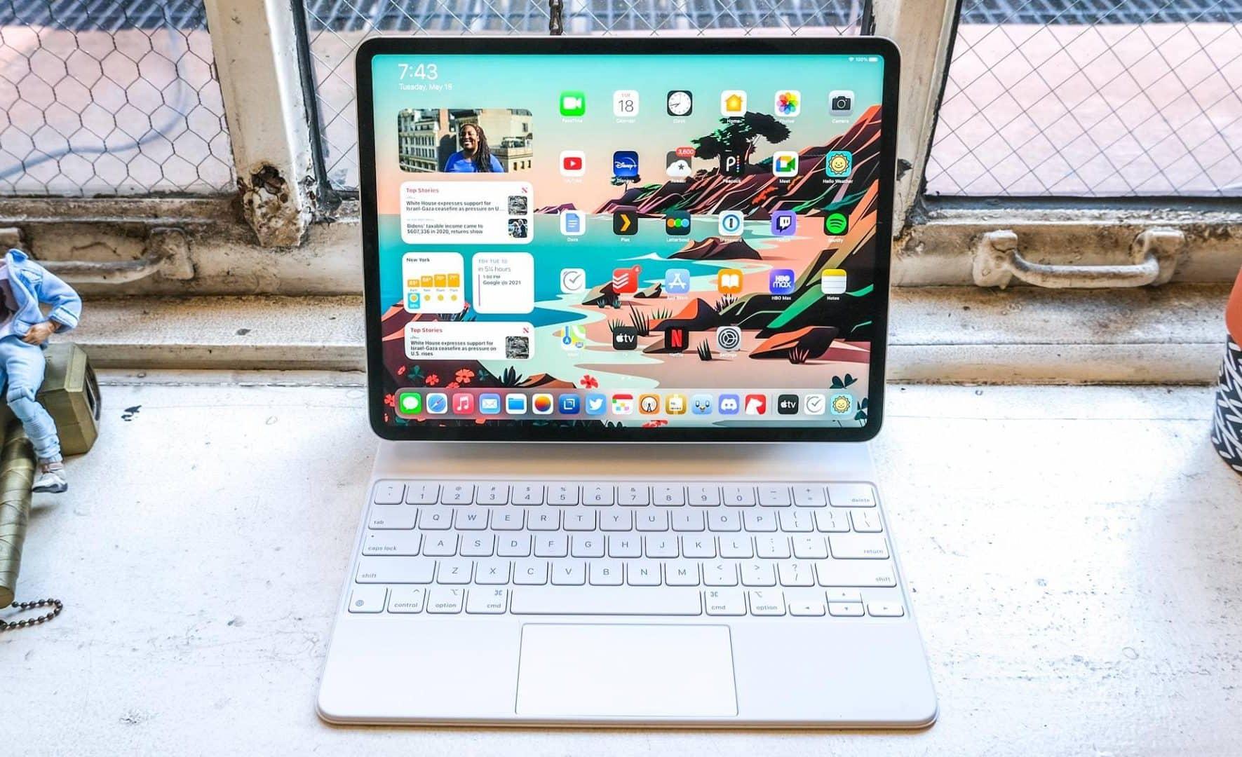 iPad Pro v roku 2021