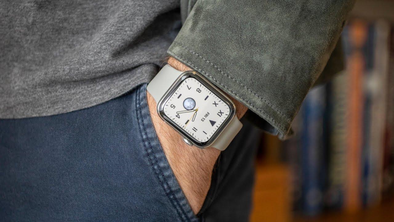 Apple Watch Series 6 titán