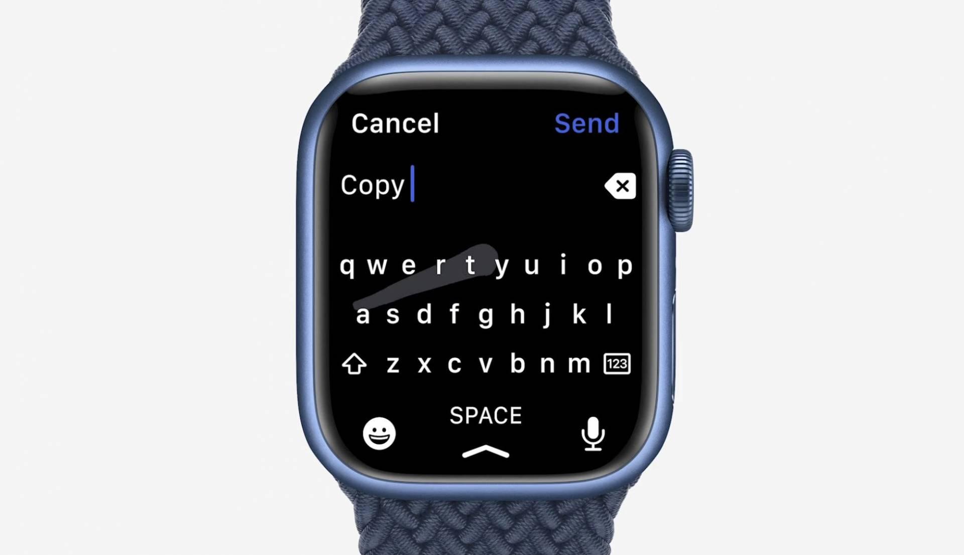 Apple Watch keyboard