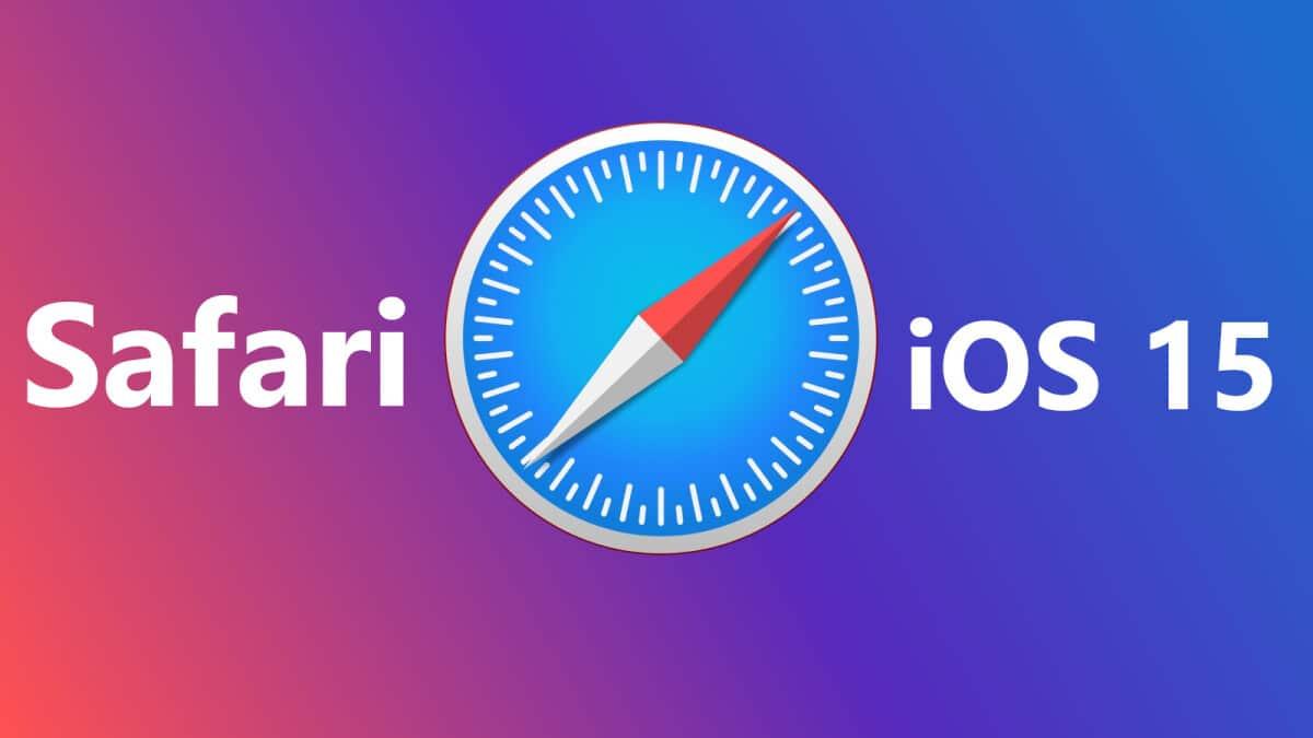 Safario iOS 15