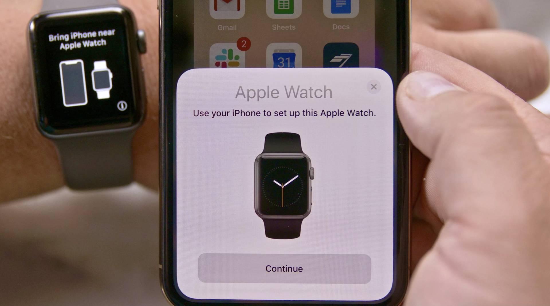 iPhone Apple Watch